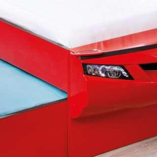 COUPE AUTO KREVET SA FIOKOM CRVENI (90x190 & 90x180 cm)