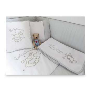 BEBI COTTON SET POSTELJINA (80X130 cm)