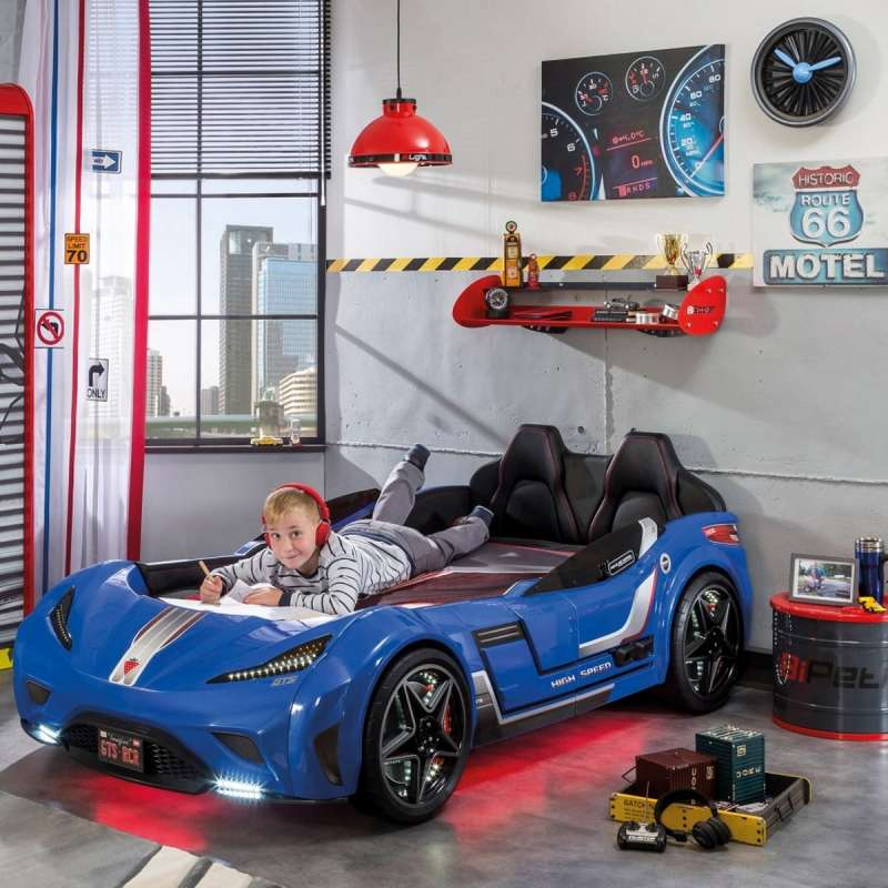 GTS AUTO KREVET PLAVI (99X191 cm)