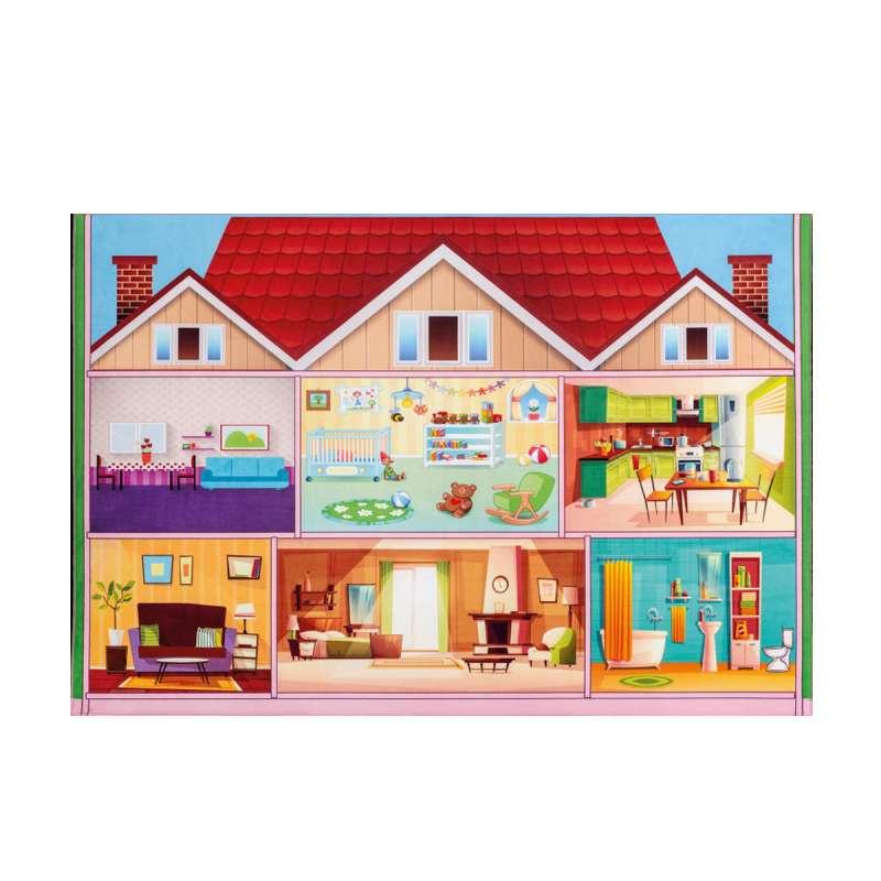 SOFT PLAY HOUSE TEPIH (100x150 cm)