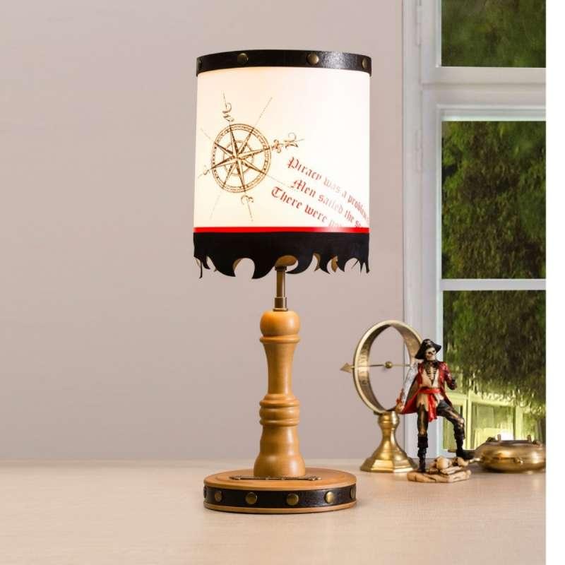 PIRATE STONA LAMPA