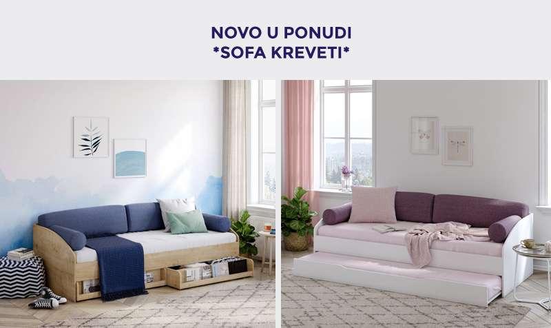 Novo u ponudi- multifunkcionalni sofa kreveti
