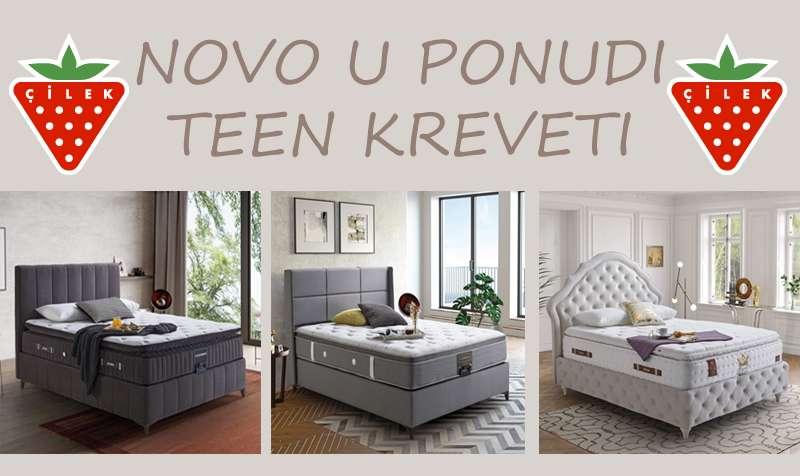 Moderni teenage kreveti- novo u ponudi!