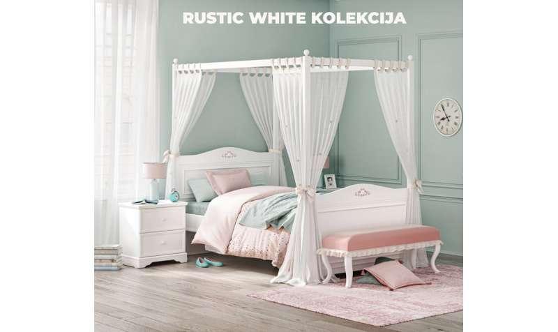 Rustic White- soba za male i velike devojčice