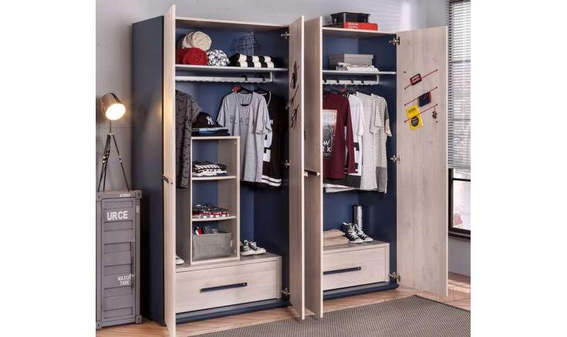 Kako izabrati garderober za dečiju sobu