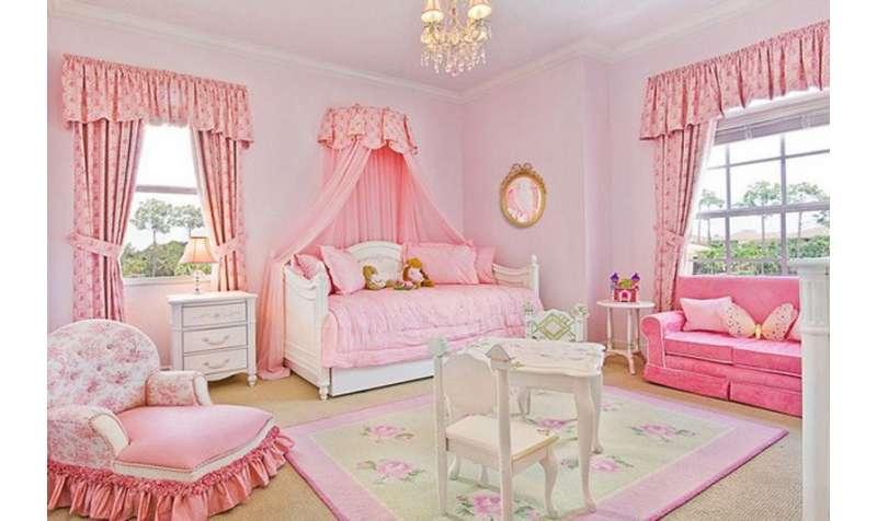 Uređenje sobe za princezu