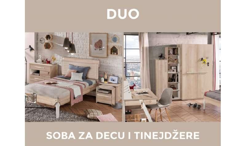 Duo kolekcija- savršena soba za tinejdžera