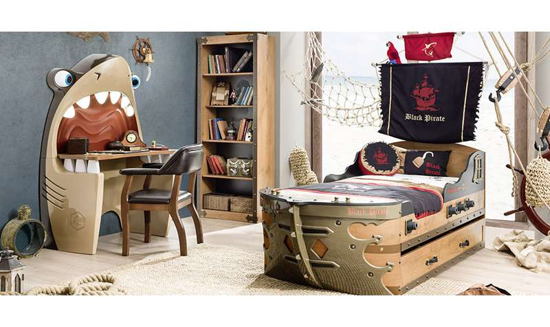 Dečije sobe za ljubitelje avantura